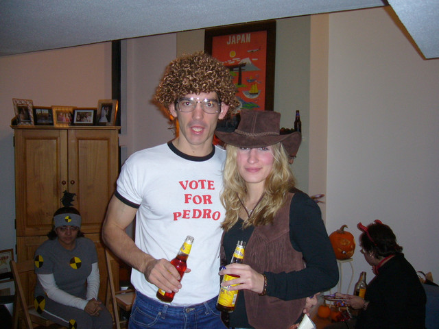Napoleon Dynamite and a Cowgirl